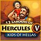Together with Hercules, save the kids kidnapped by god Ares!