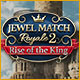 Return to a royally epic match-3 adventure!
