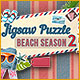 Start the beach season with new jigsaws!